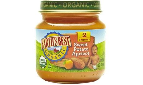 Organic Sweet Potato Apricot ( 12 - 4 oz jars )