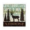 Michael Mullan Simple Living Deer Canvas Print