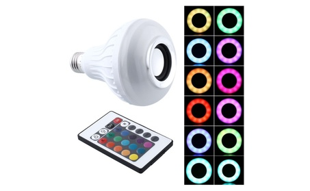 RGB LED Speaker Bulb 3867b4de-9c34-4a4c-b091-f994336d47c2