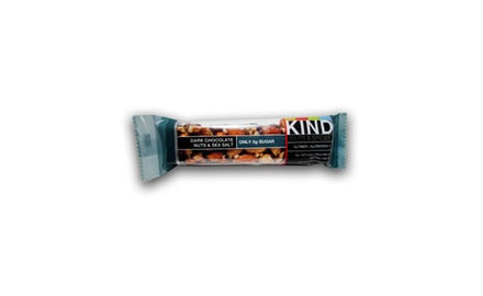 Kind Dark Chocolate Nuts and Sea Salt Bar, 1.4 Ounce (Pack of 12)