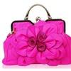 Women's 3D Rose Flowers Faux Leather Fashion Shoulder Bag