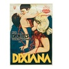Movie poster for the film DIXIANA, 1930 release