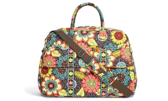 d8c0ac36462d Vera Bradley Grand Traveler Travel Bag