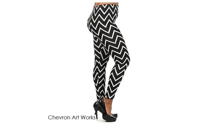 Leggings Chevron Art Works