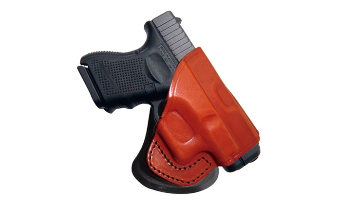 Tagua Springfield XDS Rotating Open Top Paddle Holster Brown