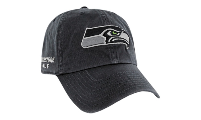 b4a4a70730d Bridgestone NFL Golf Hats