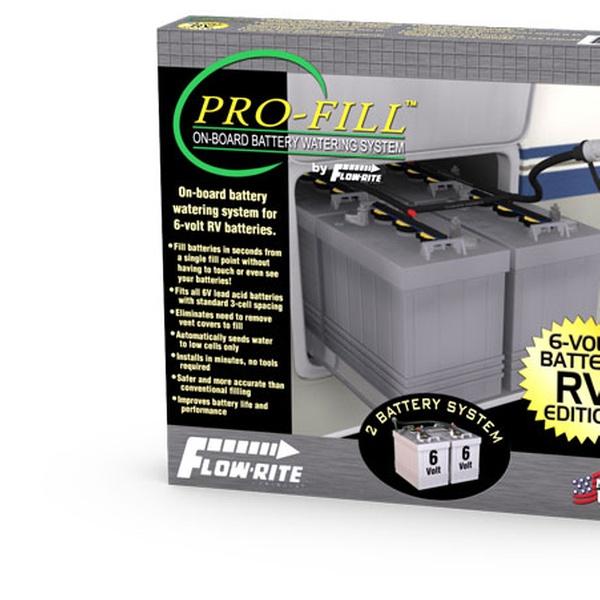 Flow-Rite RV2000 Pro-Fill RV Edition 2 Battery Kit