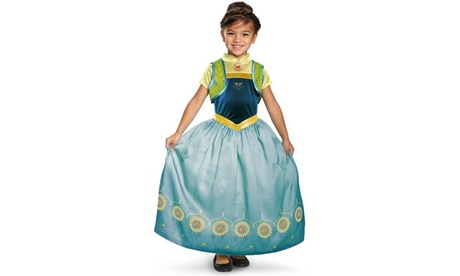 Anna Frozen Fever Deluxe Toddler Costume 642a4c97-3340-4eb7-956e-ace6b3874347