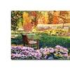David Lloyd Glover Secret Garden Chair Canvas Print