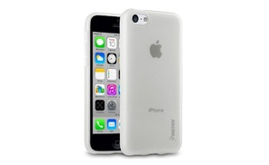 Insten Frost Clear Tpu Rubber Case For Iphone 5c