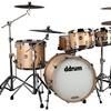 ddrum USA Maple 4pc Drum Kit - Satin Natural