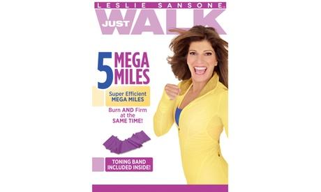 Leslie Sansone: 5 Mega Miles w/Band DVD 0658a75c-9f5f-4a8c-a250-a43edeb399dd