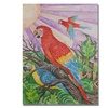 Djibrirou Kane Parrots in Pointillism Canvas Print