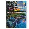 David Lloyd Glover Days End . Canvas Print