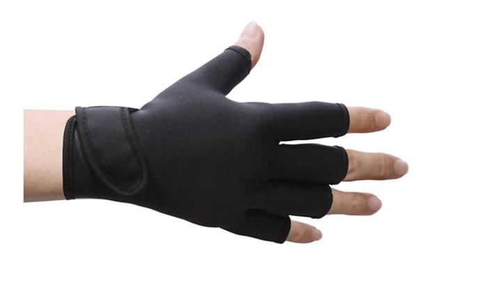 Open Finger Tip Compression Gloves