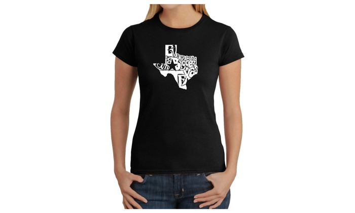 Women's T-Shirt - Everything is Bigger in Texas
