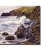 David Lloyd Glover Summer Sea Canvas Print
