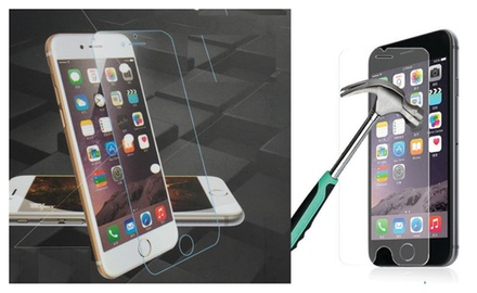 World's Best 9H Super Hardness iPhone 6 or iPhone 6 PLUS Tempered Glass Screen Protector