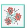 Patty Tuggle Modern Poinsettia Canvas Print