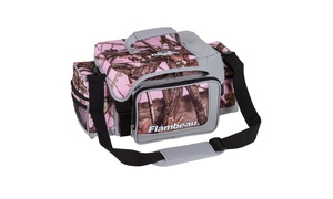 Groupon Goods Connected Supply: Flambeau Soft Tackle Bag Pink Camo XL