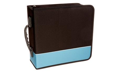 Assorted Premium Cloth 240 Compact Disc Cd DVD Blu-ray Media Wallet 8d72fff4-d4f0-4ba7-a4bb-76143f13e1a9