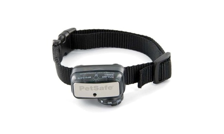 PetSafe Deluxe Little Dog Bark Control Collar Black 255ecb63-fa97-42c2-a00e-cad2c7450ca1