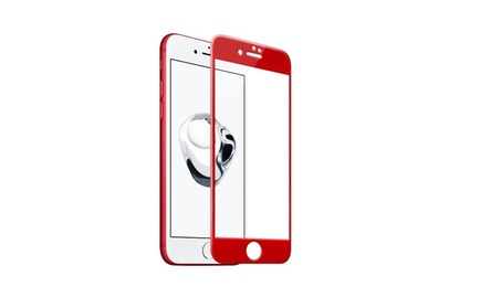 Full Cover Films Red Tempered Glass for iphone - i6 a7124e9d-a0b4-488d-9603-0a78701a6b36
