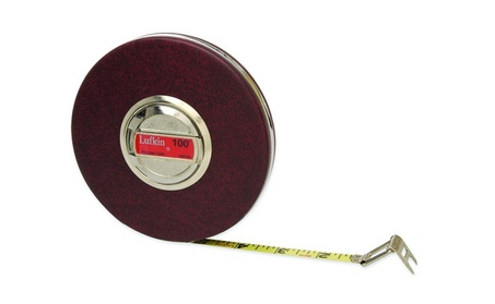 Cooper Hand Tools Lufkin 182-HW100 45884 100Ft Wh Stl Tape photo