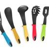 5-Piece Set: Meglio Dishwasher-Safe Kitchen Utensils, Raised Handles