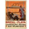 Bresil Plata Canvas Print