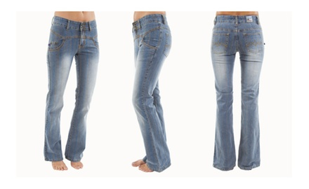 Ladies Juniors Juho Fashion Stretch Jeans - Assorted Styles