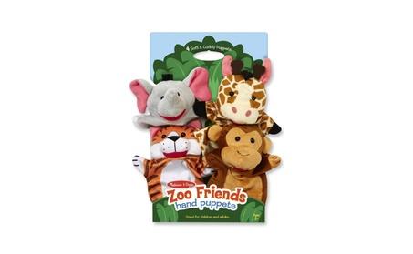 Melissa Doug Zoo Friends Hand Puppets 9081 e66157f7-11eb-4680-9959-29b869114975