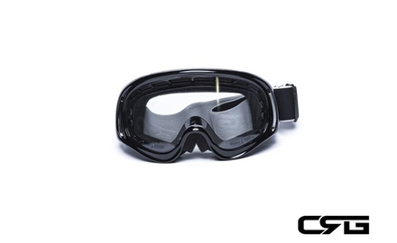 CRG Motocross ATV DIRT BIKE OFF ROAD RACING GOGGLES Adult T815-3-1