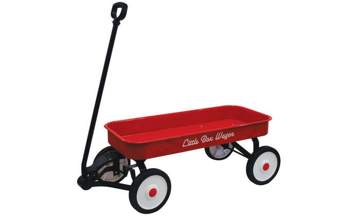 Little Box 34 Quot Metal Wagon Groupon