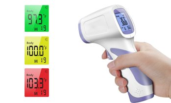 LCD Screen Digital No-Contact Forehead Infrared Thermometer Forehead Thermometer