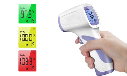 LCD Screen Digital No-Contact Forehead Infrared Thermometer Forehead Thermometer Was: $21.99 Now: $4.99.