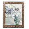 Van Gogh 'Still Life Vase of Carnations' Ornate Framed Art