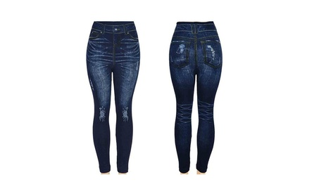 Seamless Jeggings Jean Leggings Docele