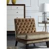 Chic Home Nestor Modern Neo Traditional Tufted Velvet Slipper Chair