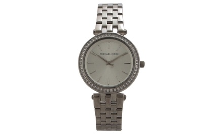 Michael kors mk3364 mini darci stainless steel bracelet for Michaels craft store watches