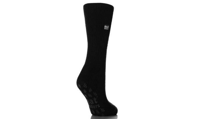Grabber Heat Holders Ladies Slipper Socks
