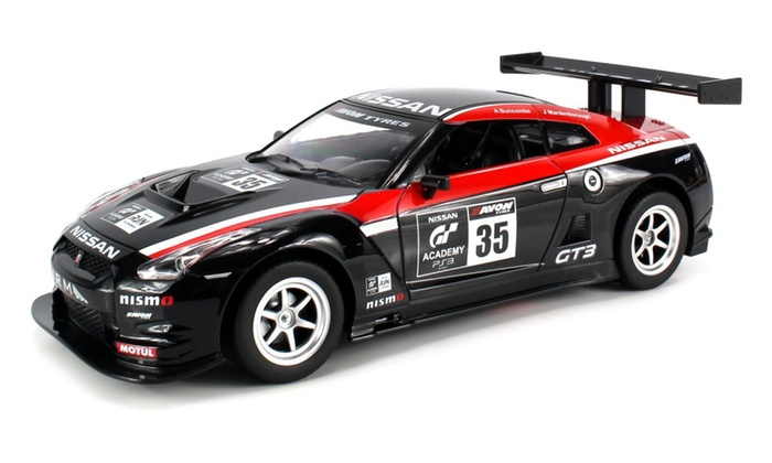 Licensed Nissan Gtr Nismo Gt3 Gt Academy Rc Car 1 16