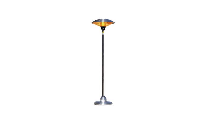 Stainless Steel Floor Standing Round Halogen Patio Heater