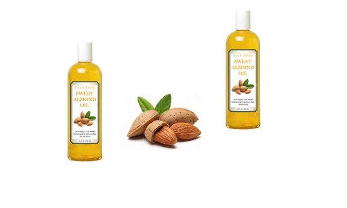 Organic Sweet Almond Oil For Nail Hair Skin 16oz