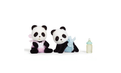 International Playthings - Calico Critters - Wilder Panda Bear Twins f1ea9364-5563-437d-a00f-777af52919ee