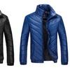 Men's Warm Fashion Windbreaker Thicken Puffer Jacket US XS-3XL