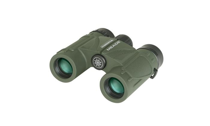 Meade 125021 Wilderness Binoculars - 10x25 Green