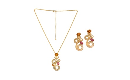ROYAL MUGHAL NECKLACE & EARRING SET