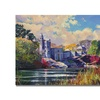 David Lloyd Glover Belvedere Castle Central Park Canvas Print