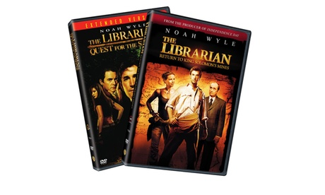 The Librarian 2pack (Back to Back/Giftset/DVD) b443588a-f599-48f6-bce2-ccdfe87f66c0